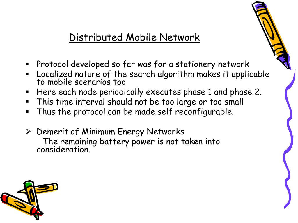 Distributed Mobile Network