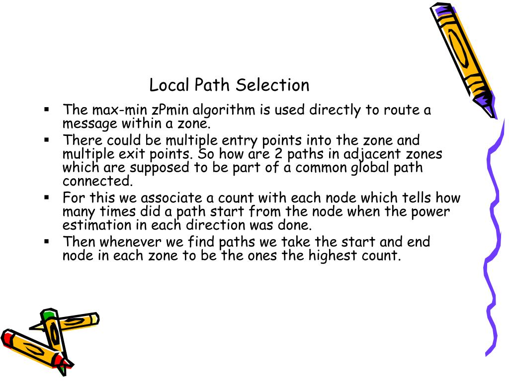 Local Path Selection