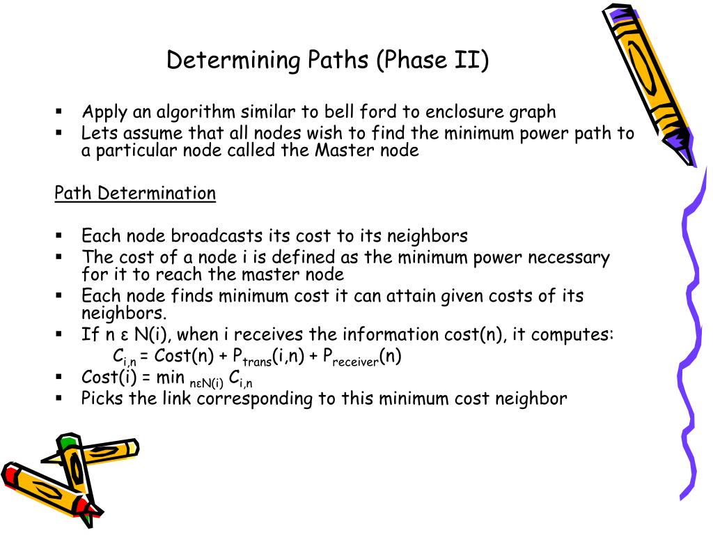 Determining Paths (Phase II)
