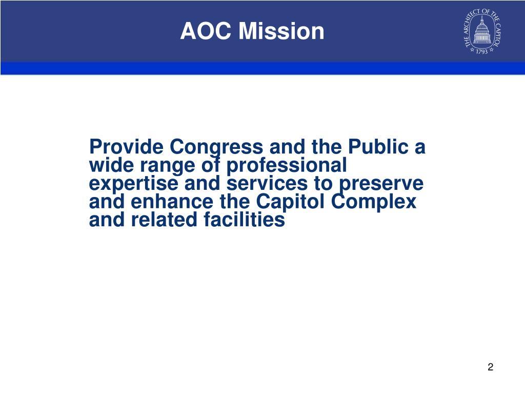 AOC Mission