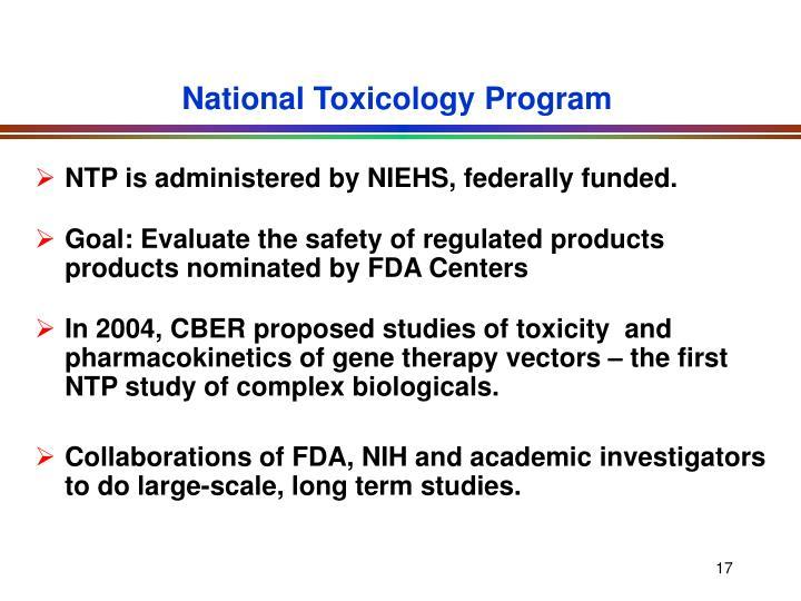 National Toxicology Program