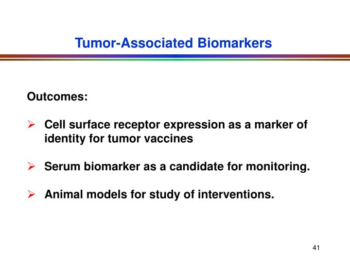 Tumor-Associated Biomarkers