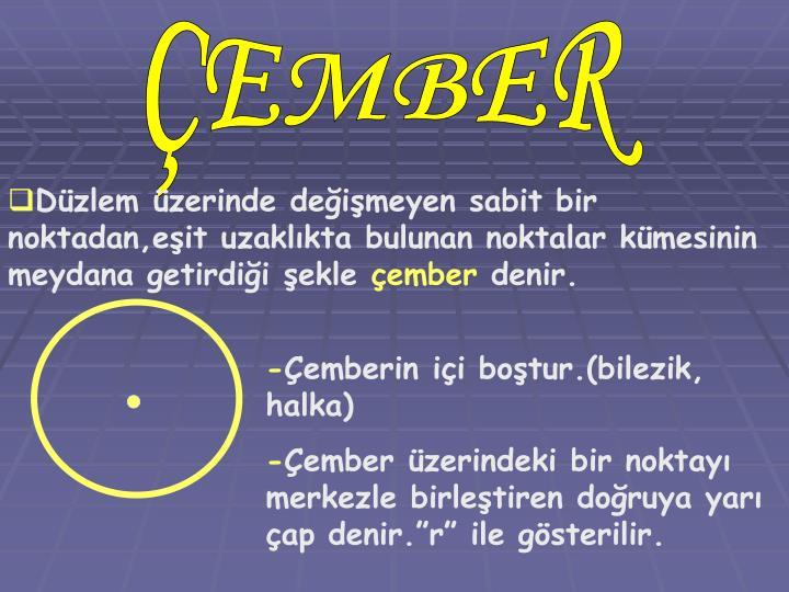 ÇEMBER