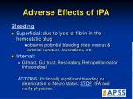 adverse effects of tpa