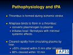 pathophysiology and tpa
