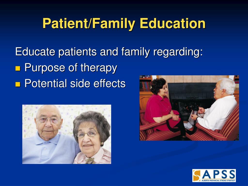 Patient/Family Education