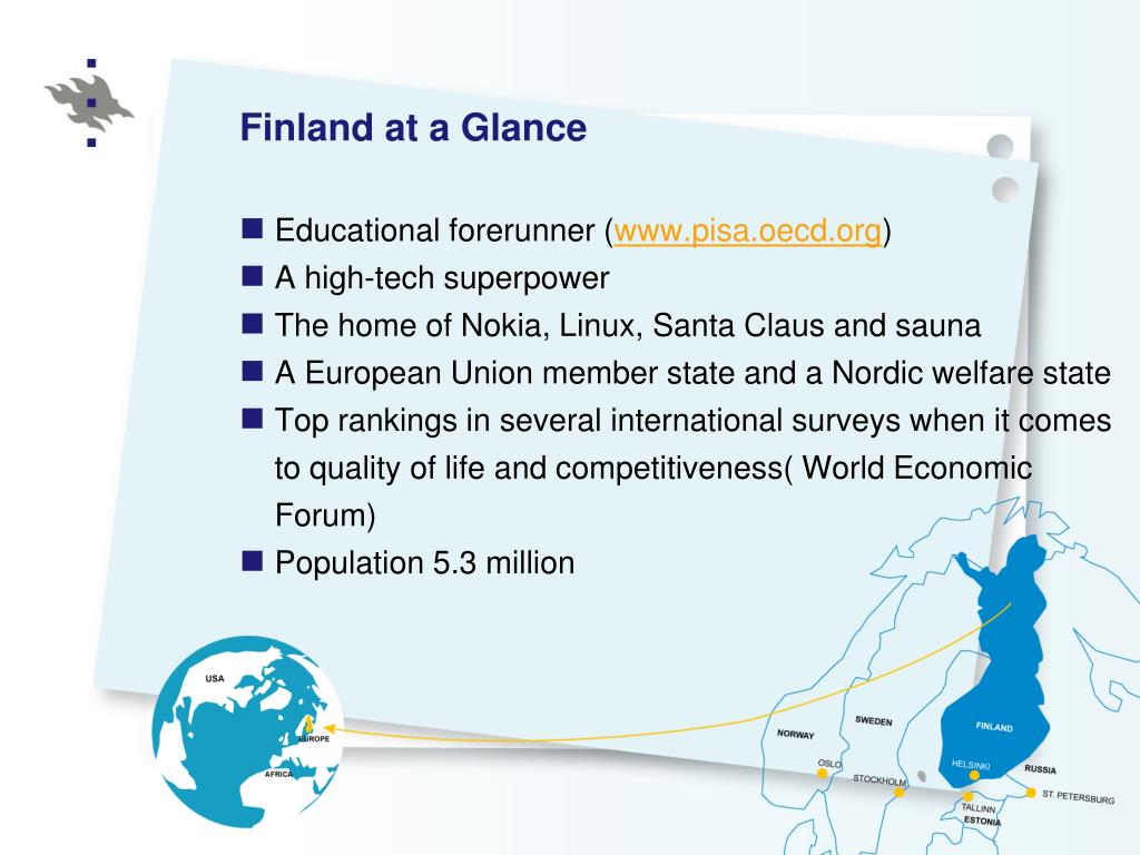 Finland at a Glance