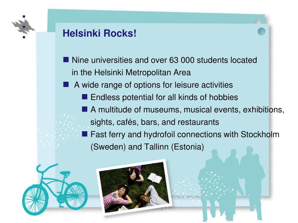 Helsinki Rocks!