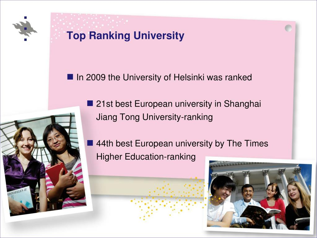 Top Ranking University