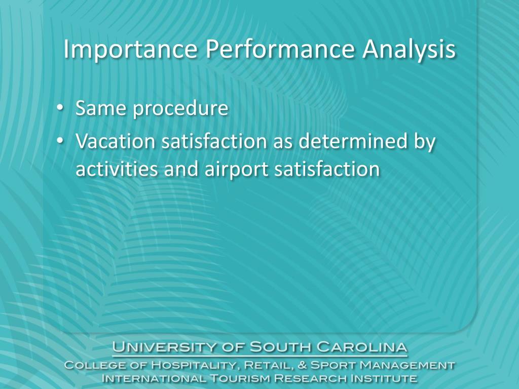 Importance Performance Analysis