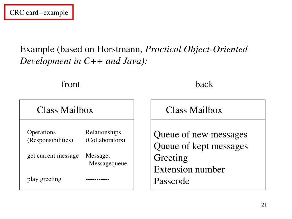 Class Mailbox