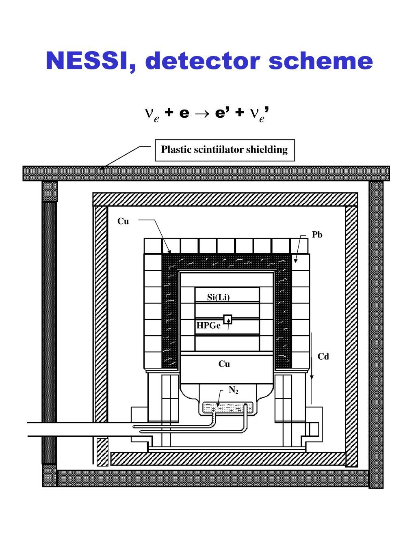 NESSI, detector scheme