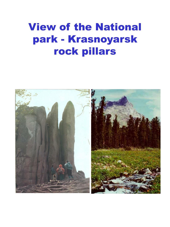 View of the National park - Krasnoyarsk
