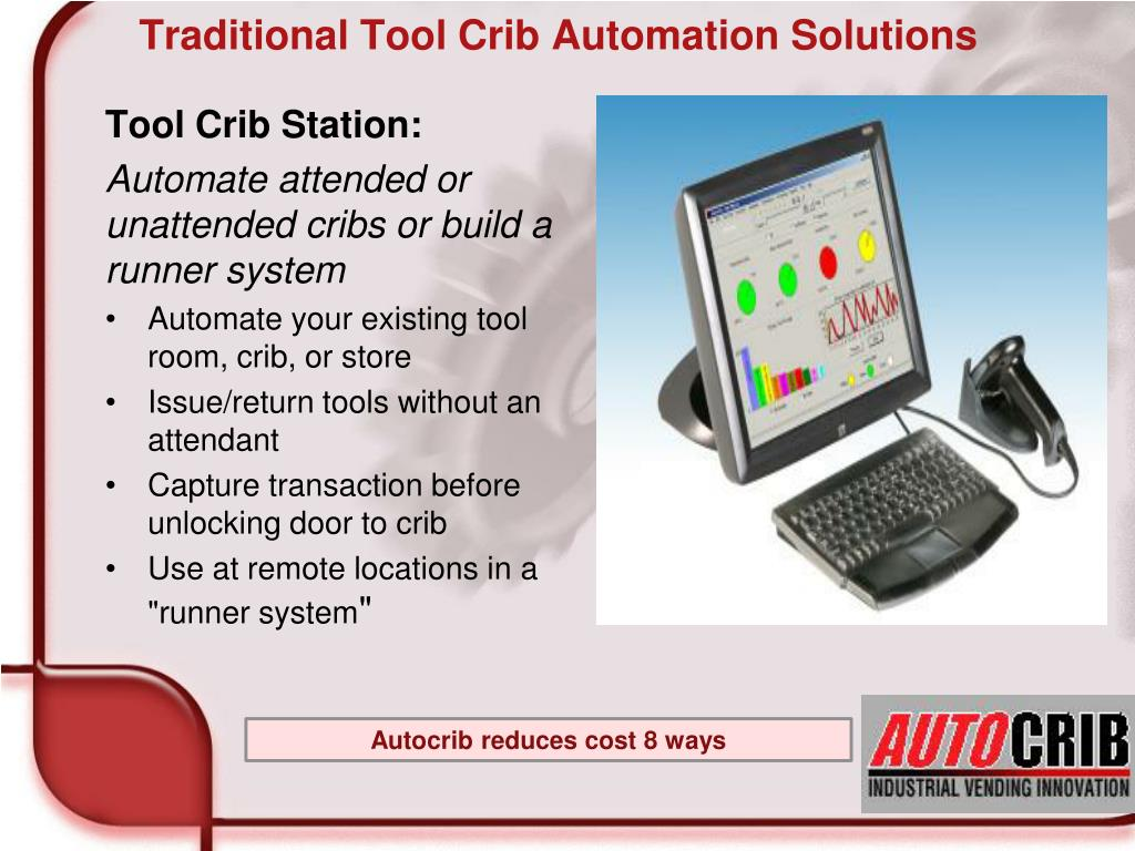 Traditional Tool Crib Automation