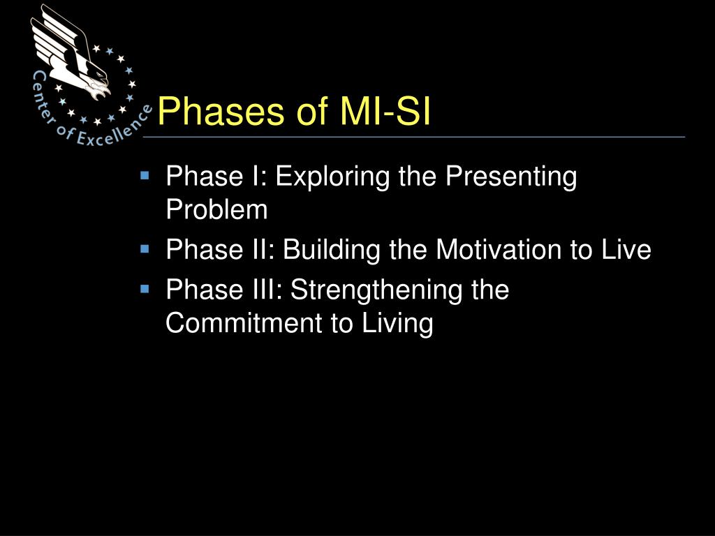 Phases of MI-SI