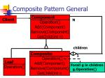composite pattern general