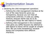 implementation issues36