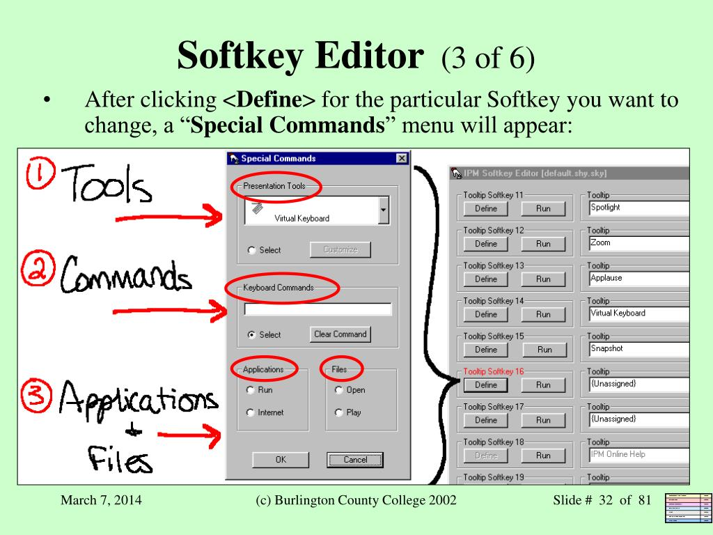 Softkey Editor