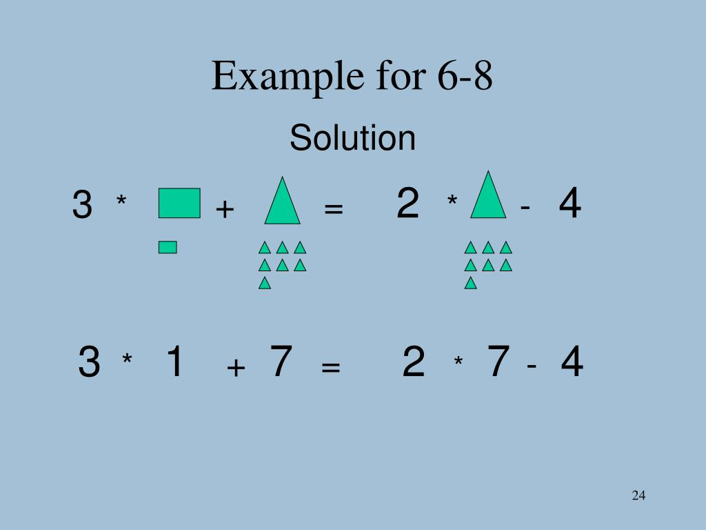Example for 6-8