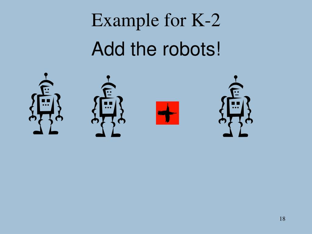 Example for K-2