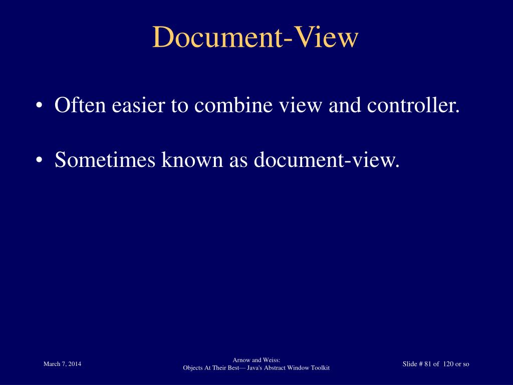 Document-View