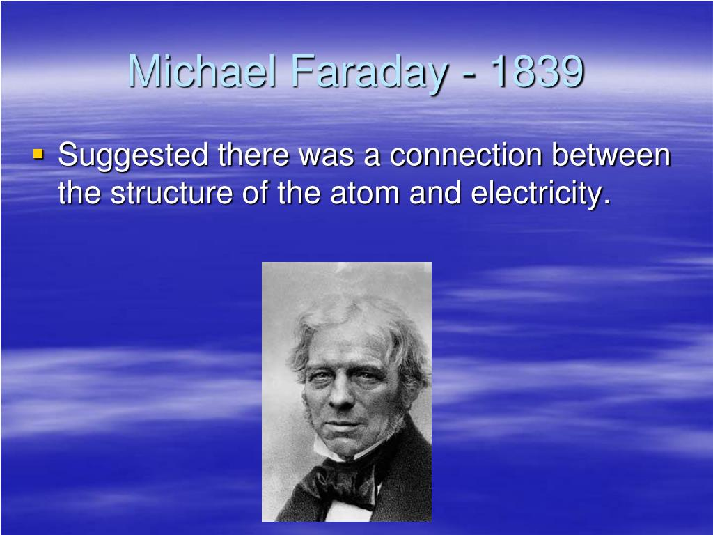 Michael Faraday - 1839