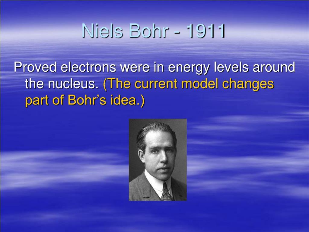 Niels Bohr - 1911