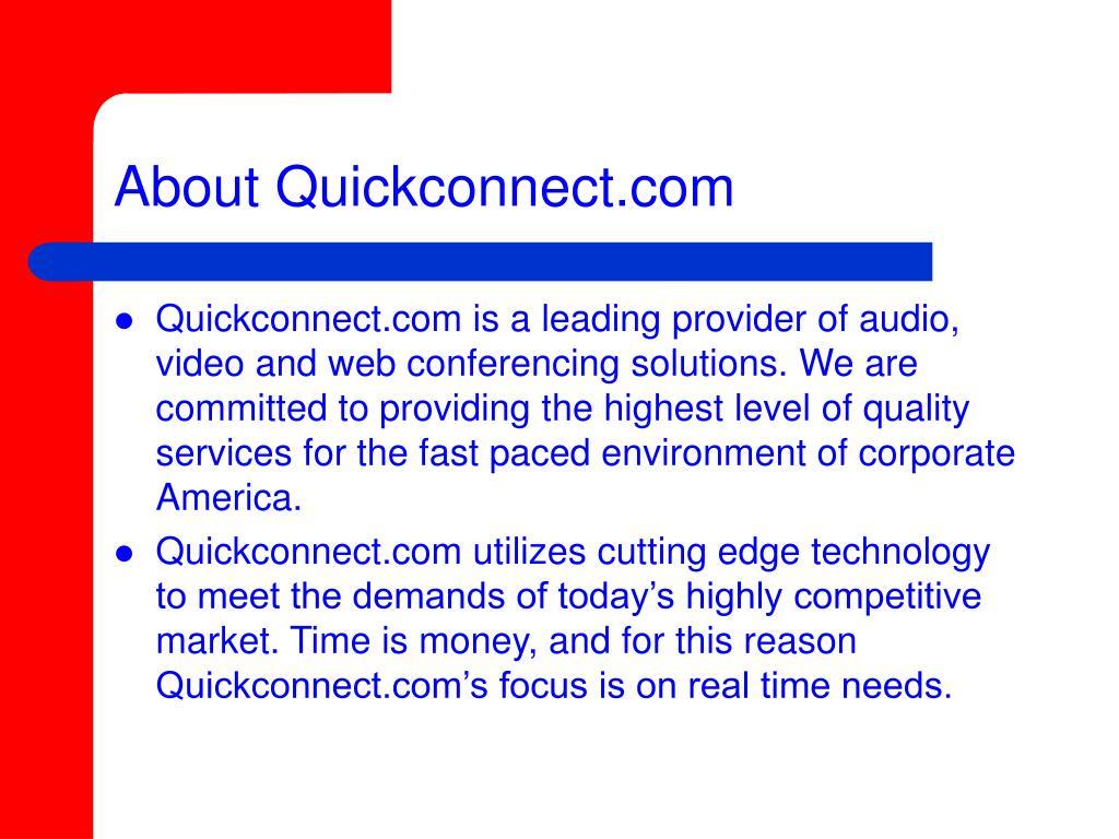 About Quickconnect.com