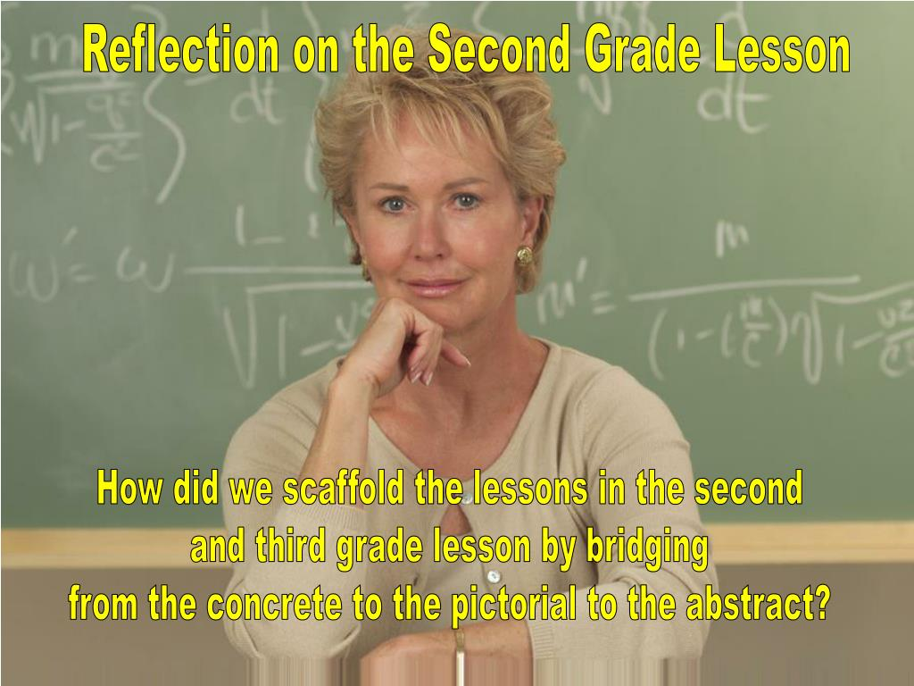 Reflection on the Second Grade Lesson