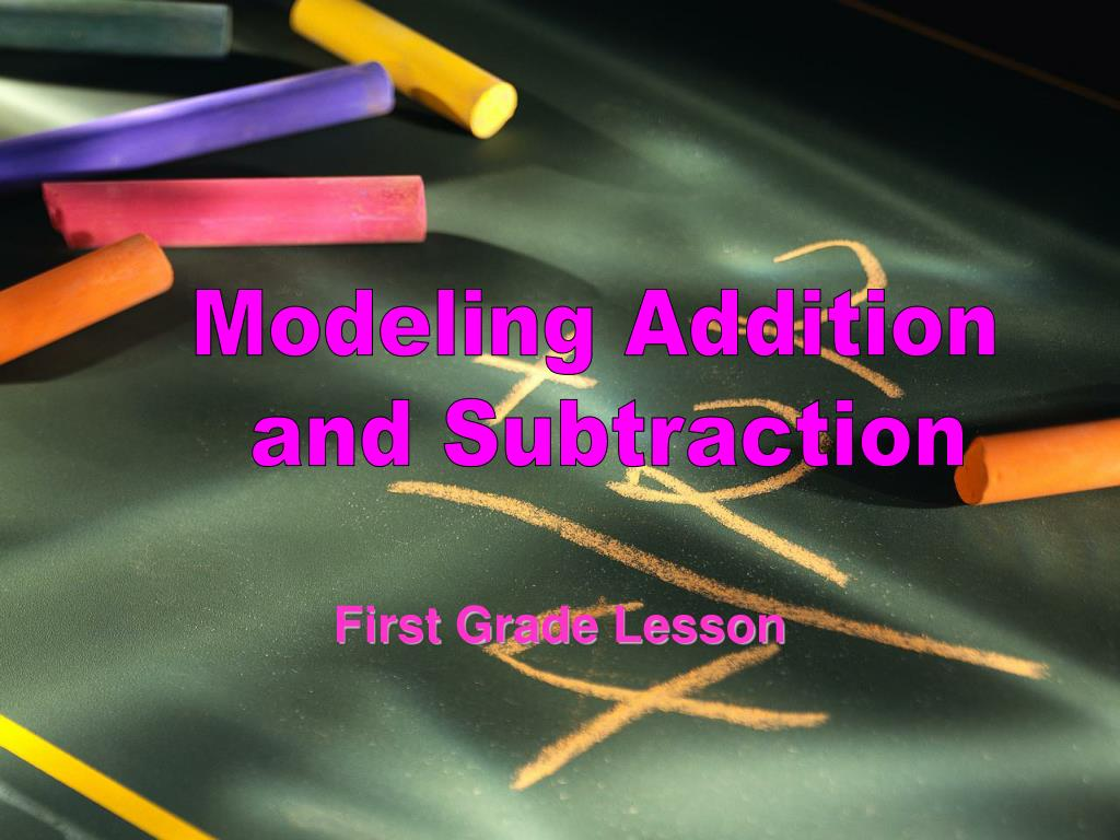 Modeling Addition