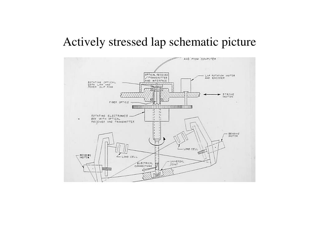 Actively stressed lap schematic picture