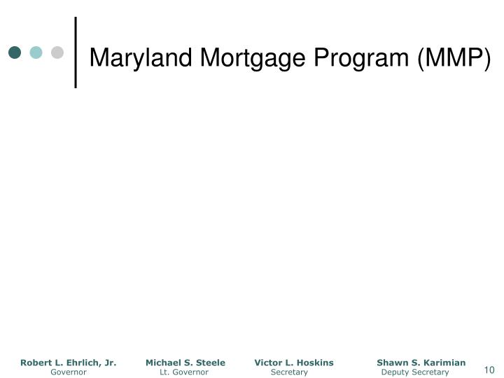 Maryland Mortgage Program (MMP)