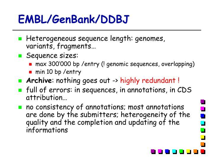 EMBL/GenBank/DDBJ