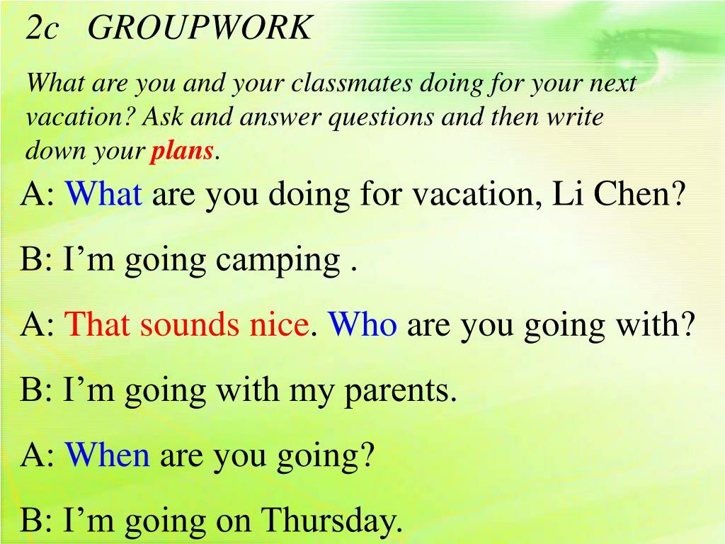 2c   GROUPWORK