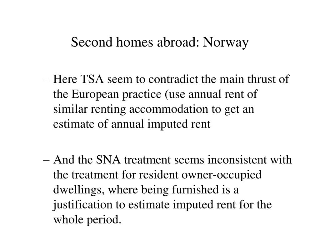 Second homes abroad: Norway