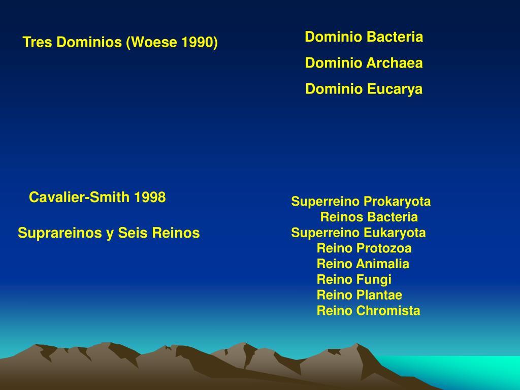 Dominio Bacteria