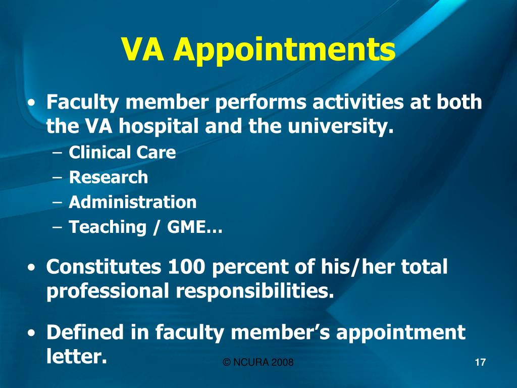VA Appointments