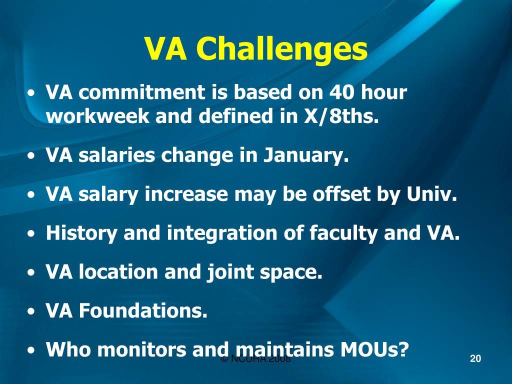 VA Challenges