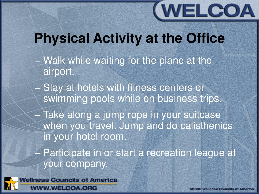 Physical Activity at the Office