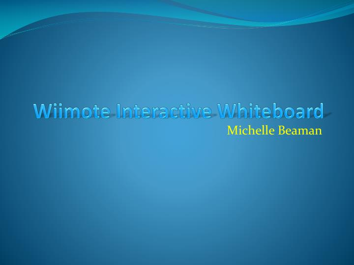 Wiimote interactive whiteboard l.jpg