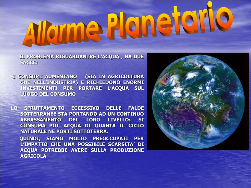 Allarme Planetario