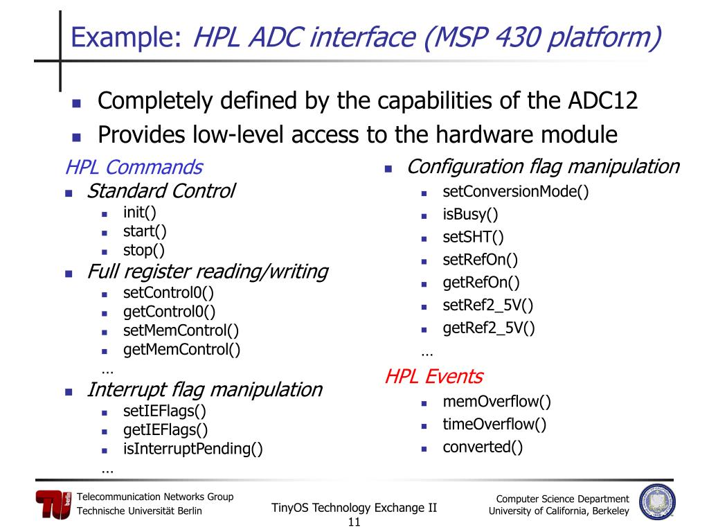 HPL Commands