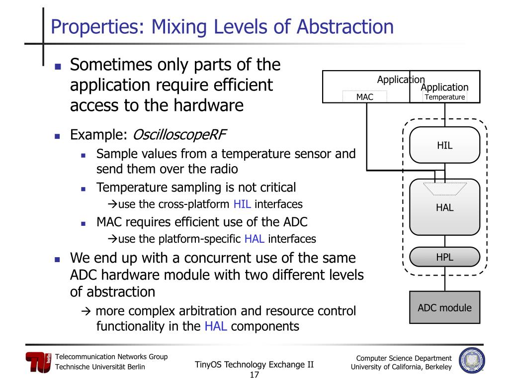 Properties: Mixing Levels of Abstraction