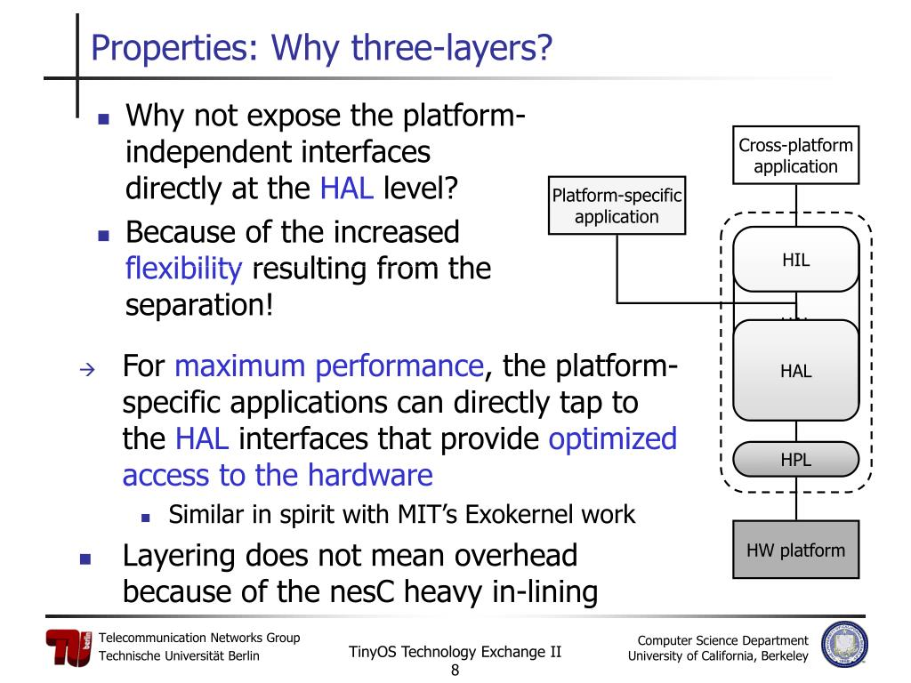 Properties: Why three-layers?