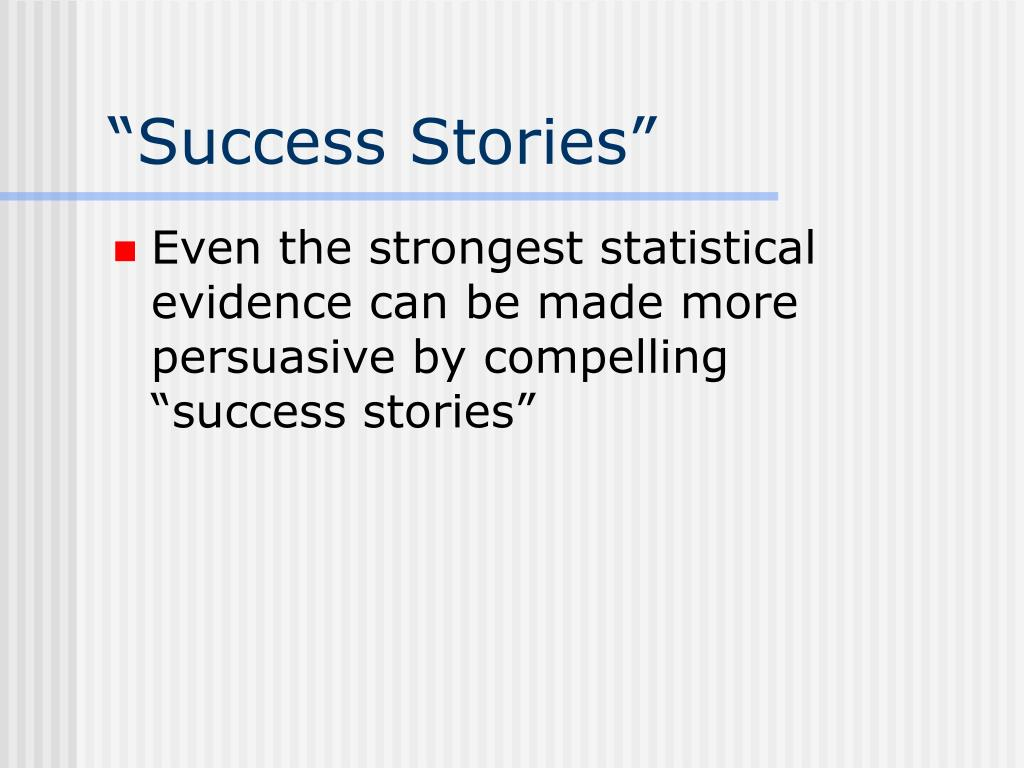 """Success Stories"""