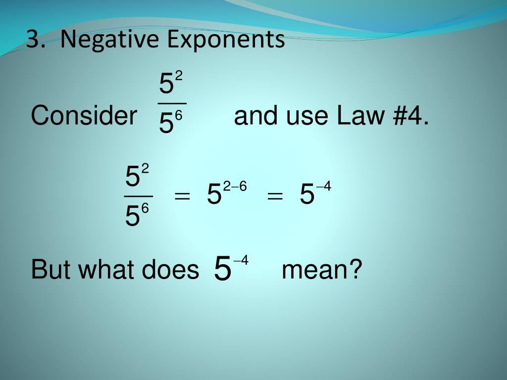 how to add exponents in powerpoint