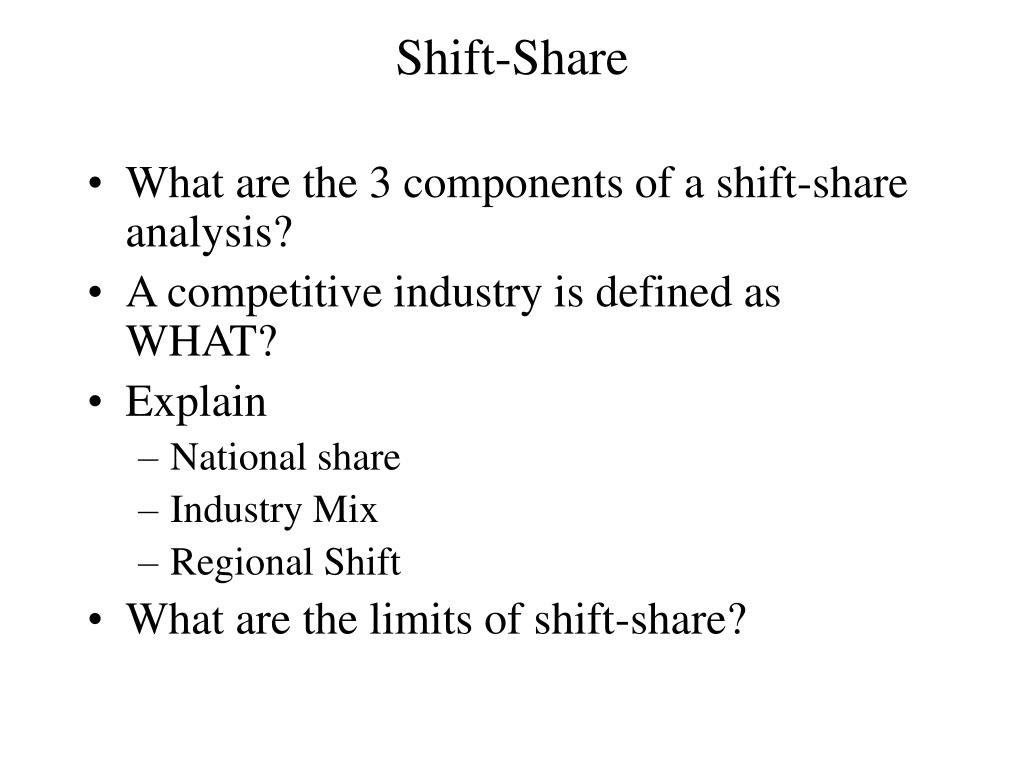 Shift-Share