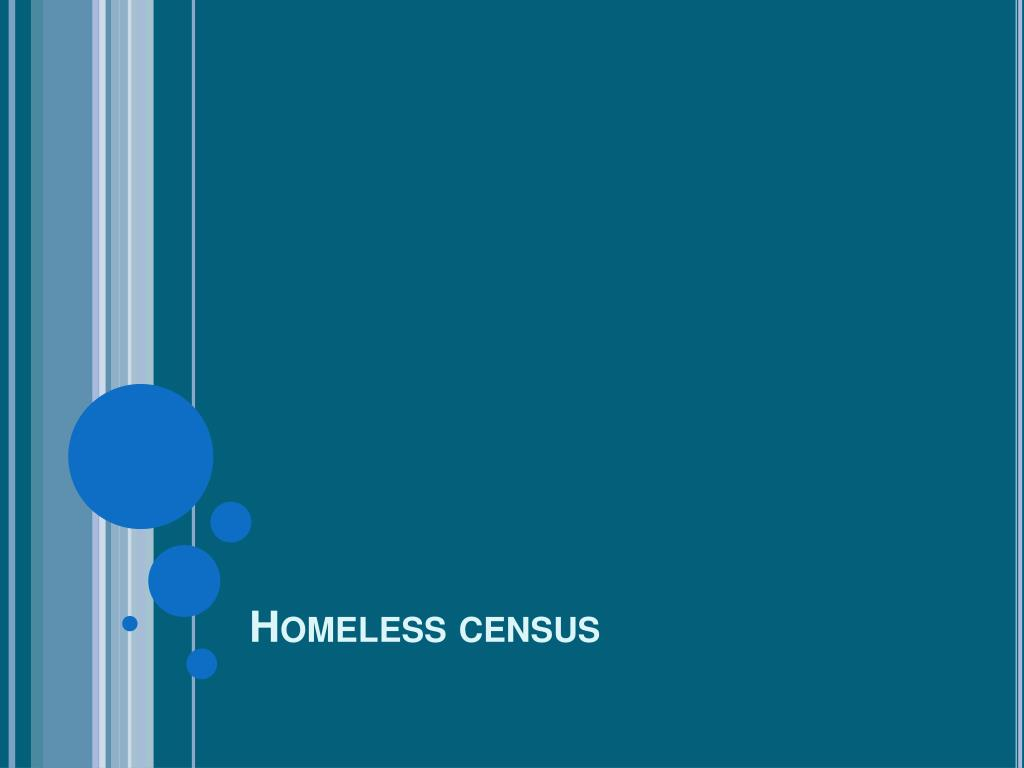 Homeless census