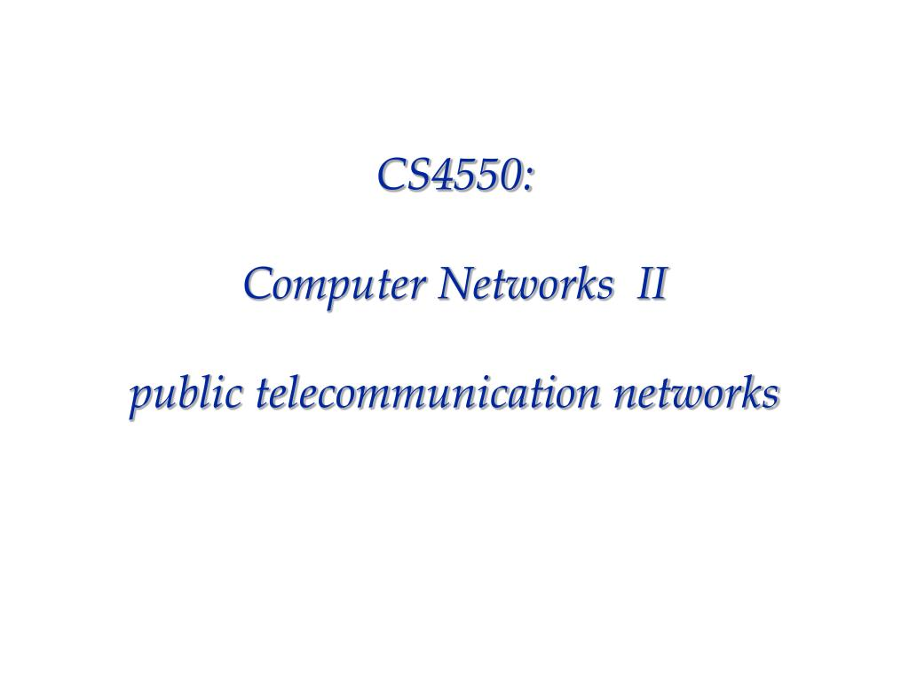CS4550: