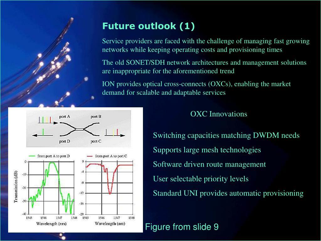 Future outlook (1)